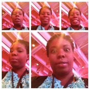 I may or may not have taken these pics during a conference.