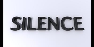 blog silence