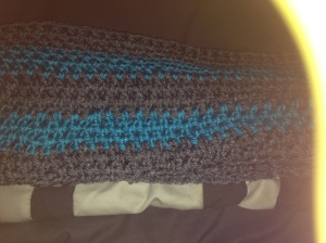 A scarf I completed for myself.
