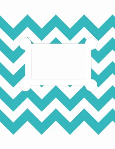 Free Chevron Stripes - Ready for text